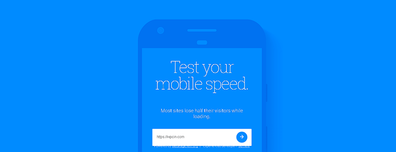 Google Mobil Speed Test