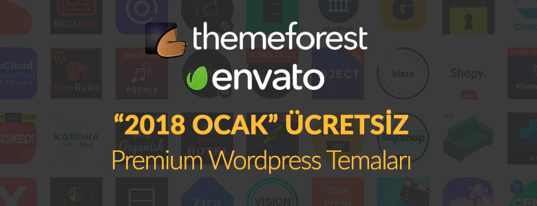 Themeforest 2018 Ocak