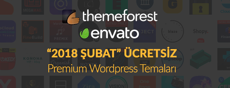 Themeforest Şubat 2018