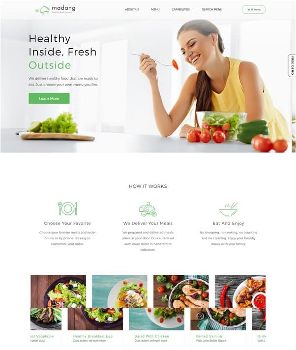 Madang WordPress Theme