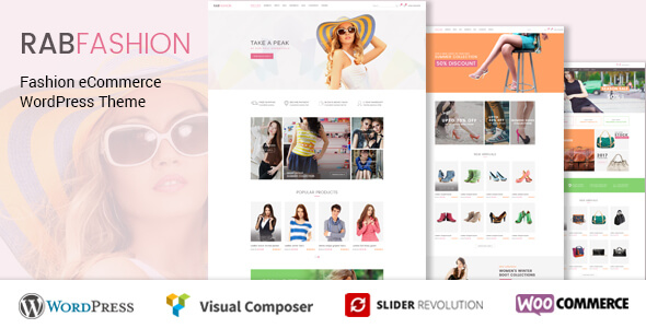 Rab Fashion WordPress Theme